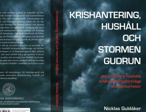 Krishantering, hushåll och stormen Gudrun