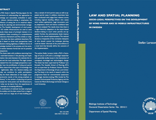 Law and Spatial Planning